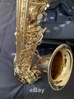 Used Selmer Prelude TS711 Tenor Saxophone with New Case and Yamaha Mouthpiece
