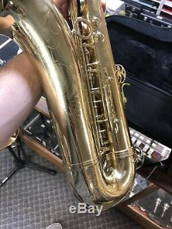 Used Selmer Prelude TS711 Tenor Saxophone with New Protec Case Free Shipping
