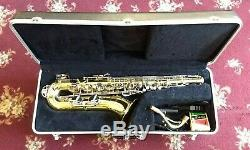 Used Selmer USA 1244 Tenor Saxophone, Case & Mouthpiece, Serial #1354186, Extras