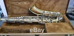 Used Yamaha YTS-21 B flat Tenor Saxophone with Case