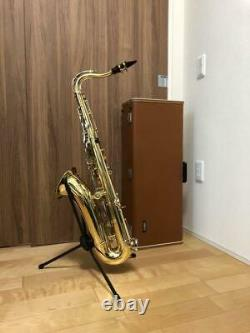 Used Yamaha YTS-23 Tenor Saxophone With Case Strap Musical Instrument