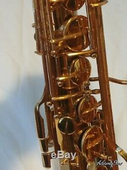 VINTAGE H COUF Tenor Saxophone Royalist I with Case and Extras BEAUTIFUL NICE LOOK