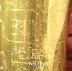 VINTAGE SELMER BUNDY TENOR SAX SAXOPHONE WithMOUTHPIECE & HARD CASE ser # 111927
