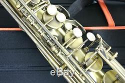 Venus TENOR SAXOPHONE Sax ANTIQUE BRONZE FINISH + Case & Accessories New