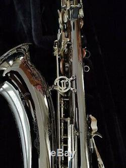 Very Nice Cannonball Big Bell Global Tenor Saxophone with Original Case and Mpc