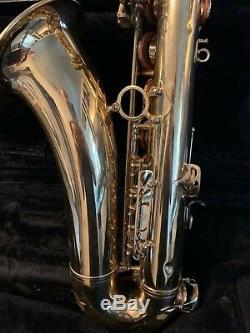 Very Nice Selmer Paris Mark VII 7 Tenor Saxophone Sax With Original Case Look