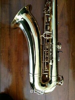Very Nice Yamaha YTS-475 Step-Up Tenor Sax made in Japan with Original Hard Case