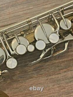 Vintage 1939 Martin Handcraft Committee II Tenor Saxophone Original Case