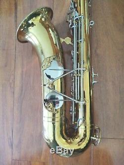 Vintage 1940 Martin Committee Professional Tenor Saxophone with Case and Strap