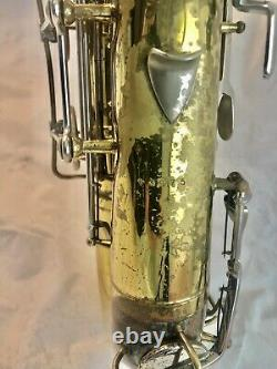 Vintage 1947 Conn/ Martin Pan American Tenor Saxophone with Case and Mouthpiece