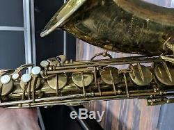 Vintage 1952 50xxx Selmer Super Balanced Action Tenor Saxophone with Case
