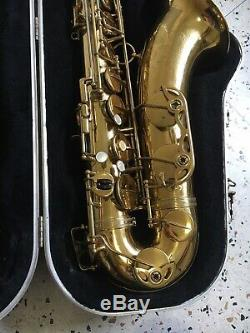 Vintage 1952 51xxx Selmer Super Balanced Action Tenor Saxophone with SKB Case