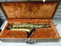 Vintage 1956 The Martin Tenor Saxophone with Original Hardshell Case