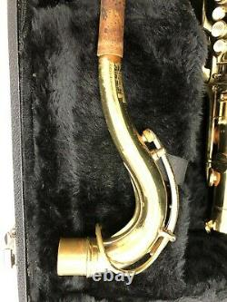 Vintage 1960-61 Buffet Crampon Super Dynaction Tenor Saxophone With Hard Case