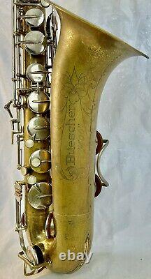 Vintage 1966 Buescher 400 Bb Tenor Saxophone/ Hard Case