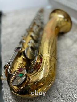 Vintage 1970s Selmer Bundy I (USA) Tenor Saxophone