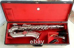 Vintage AMERICAN STANDARD High Grade Tenor Sax withCase Good Condition