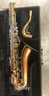 Vintage Buescher 400 Bb Tenor Saxophone with Hard Case