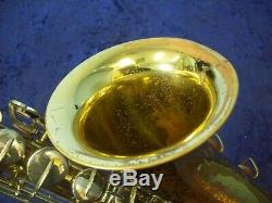 Vintage Buescher Aristocrat 1040 Tenor Saxophone + Case