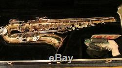 Vintage Buescher Aristocrat 200 Tenor Saxophone With Case