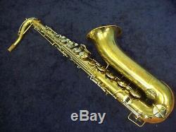 Vintage Buescher Aristocrat Tenor Saxophone + Case