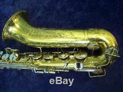 Vintage Buescher Tenor Saxophone + Conn Case