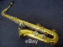 Vintage Buescher Tenor Saxophone + Fobes Debut Mouthpiece + Case