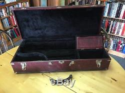Vintage Bundy Tenor Saxophone With Neck And Case, Plays Needs 1 Cork