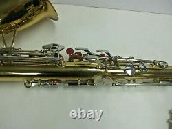 Vintage CORTON FOREIGN Tenor Saxophone with Case and Extras Very Nice Cond