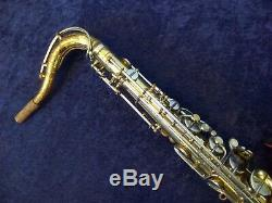 Vintage Concord Artist Tenor Saxophone + Case Keilwerth/schenkelaars