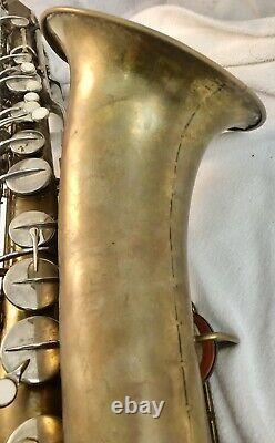 Vintage Conn 16M Bb Tenor Saxophone/ No Case With Mouthpiece