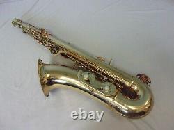 Vintage Conn Shooting Stars Tenor Saxophone + Case