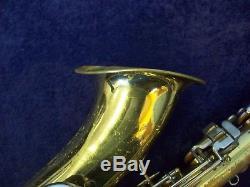 Vintage! Conn Shooting Stars USA Tenor Saxophone + Neck Strap + Conn Case