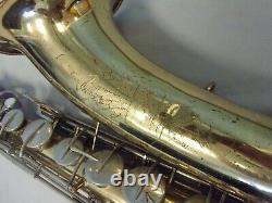 Vintage Conn U. S. A. 16m'shooting Stars' Tenor Saxophone + Case