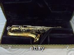 Vintage G. Leblanc System Rationale Tenor Saxophone + Case Made In Paris, France