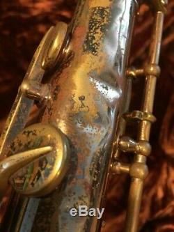 Vintage H. COUF SUPERBA 1 TENOR SAXOPHONE with H. Couf Case