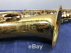Vintage H. Couf Superba I Bb Tenor Sax Saxophone with Case Ready to Play