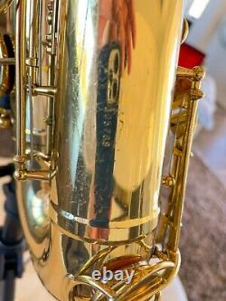 Vintage Late 1968 Martin Committee (III) Tenor Sax with Case