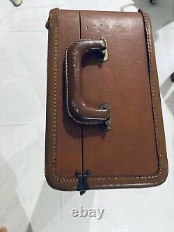 Vintage Leather Selmer Super Balanced Action Tenor Saxophone Case Mark Vi SBA