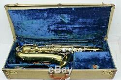 Vintage Martin Indiana Tenor Saxophone Indiana series 1942-1951 withcase