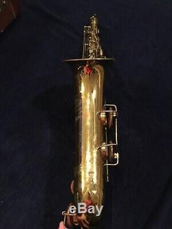 Vintage Martin Medalist Tenor Sax Saxophone With Case