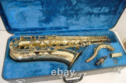 Vintage NIKKAN IMPERIALE Saxophone JAPAN tenor with hard case Imperial series