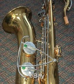 Vintage Original Bundy Selmer USA 560832 Tenor Saxophone with Case