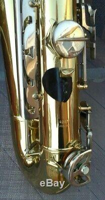 Vintage Orpheum Deluxe Tenor Sax with Original Case in Very Good Condition