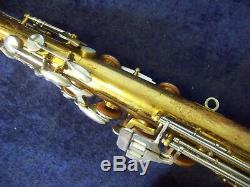 Vintage, Quality American Made King Cleveland 615 U. S. A. Tenor Saxophone + Case