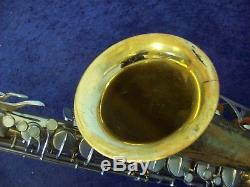 Vintage, Quality Made Conn 16m Tenor Saxophone + Case