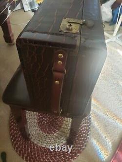 Vintage-Retro Tenor Saxophone Case