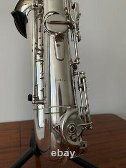 Vintage S/Plated AMATI Tenor Saxophone with Weltklang Mouthpiece and Case