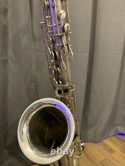 Vintage S/Plated Tenor Saxophone WELTKLANG with Case (1972)