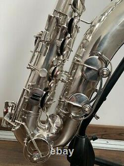 Vintage S/Plated Weltklang Tenor Saxophone withCase